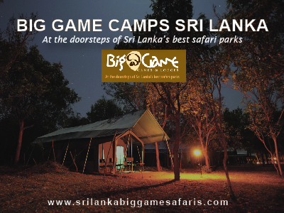 big game camps sri lanka